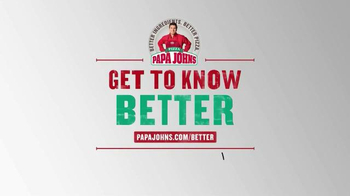 Papa John's TV Spot, 'Get to Know Papa John's Better' - Thumbnail 7