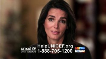 UNICEF/TAP Project TV Spot, 'Change' Featuring Angie Harmon