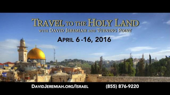 Turning Point with Dr. David Jeremiah TV Spot, 'Travel to the Holy Land' - Thumbnail 6