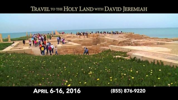 Turning Point with Dr. David Jeremiah TV Spot, 'Travel to the Holy Land' - Thumbnail 2