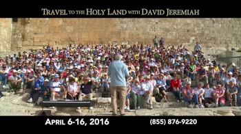 Turning Point with Dr. David Jeremiah TV Spot, 'Travel to the Holy Land' - Thumbnail 3