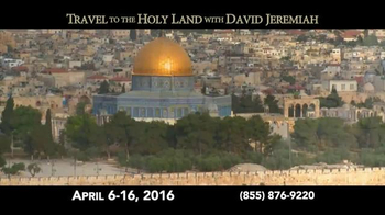 Turning Point with Dr. David Jeremiah TV Spot, 'Travel to the Holy Land' - Thumbnail 4