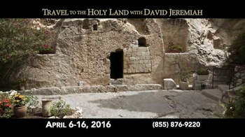 Turning Point with Dr. David Jeremiah TV Spot, 'Travel to the Holy Land' - Thumbnail 5