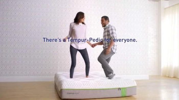 Tempur-Pedic TV Spot, 'There's a Tempur-Pedic Bed for Everyone'