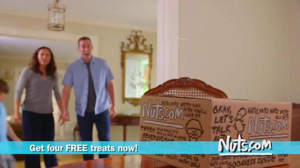 Nuts.com TV Commercial, 'Talking Nuts'