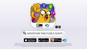 Cartoon Network Adventure Time Puzzle Quest App TV Spot, 'Get Ready' - Thumbnail 10