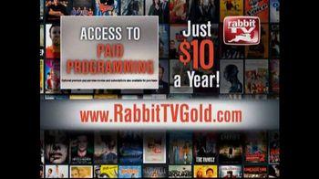 Rabbit TV Gold TV Spot - 37 commercial airings