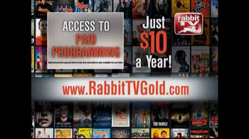 Rabbit TV Gold TV Spot