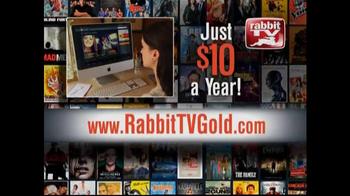 Rabbit TV Gold TV Spot - Thumbnail 9