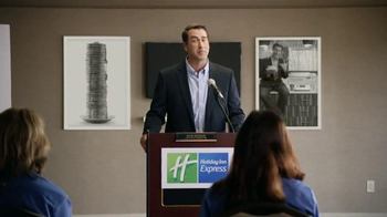 Holiday Inn Express TV Spot, 'Breakfast Excellence Honcho' Ft. Rob Riggle - Thumbnail 4