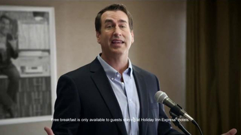 Holiday Inn Express TV Spot, 'Breakfast Excellence Honcho' Ft. Rob Riggle - Thumbnail 6