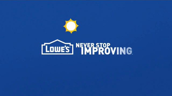 Lowe's Summer Saving's Event TV Spot, 'Batteries and Faucets' - Thumbnail 8