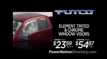 PowerNation Directory TV Spot, 'Putco, Spectre, ST Suspensions & Edelbrock'