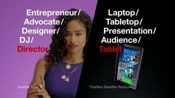 Toshiba Satellite Radius TV Spot, 'Director' Featuring Vashtie Kola