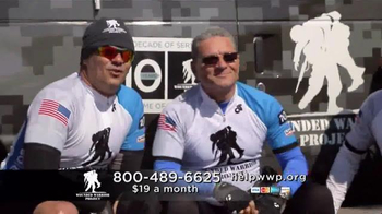 Wounded Warrior Project TV Spot, 'Soldier Ride' Featuring Dean Norris - Thumbnail 4