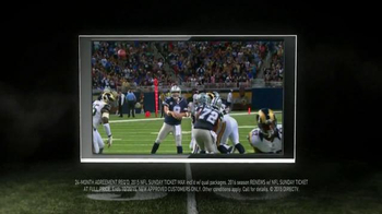 DIRECTV NFL Sunday Ticket TV Spot, 'Bad Comedian Eli Manning' - Thumbnail 6
