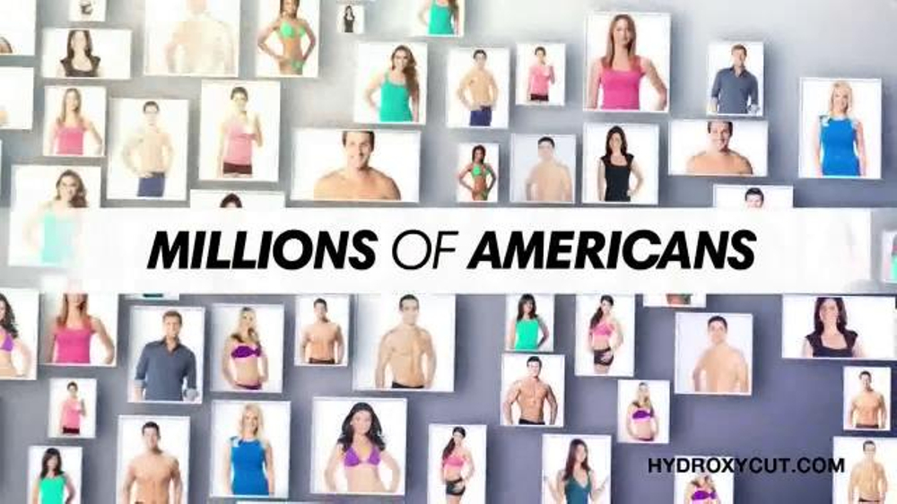 Hydroxy Cut TV Commercial, 'Join Millions of Americans'