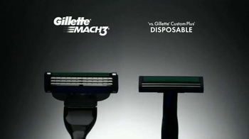 Gillette Mach3 Turbo TV Spot, 'Ten Shaves' Song by Underworld - Thumbnail 4