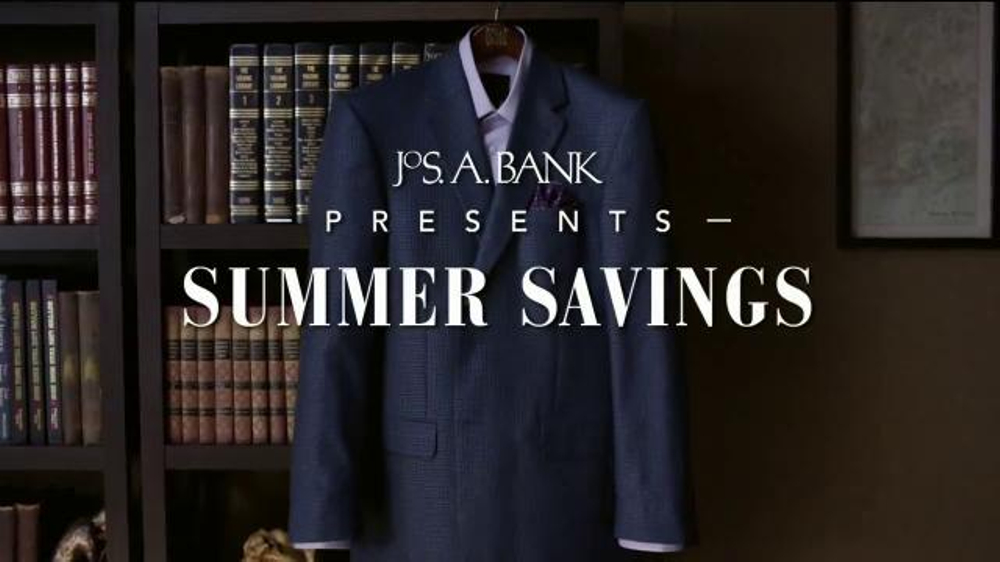 JoS. A. Bank TV Commercial, 'Summer Savings: Traveler Shirts'