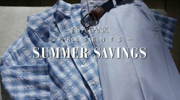 JoS. A. Bank Summer Savings TV Spot, 'Pants, Sportshirts, Polos and Shorts'