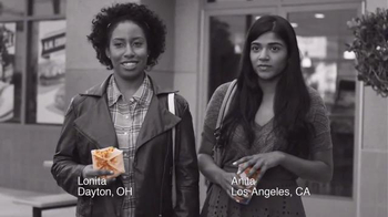 Taco Bell A.M. Crunchwrap TV Spot, 'Breakfast Defectors: Anita and Lonita'