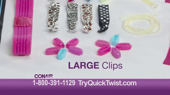 Conair Quick Twist TV Spot, 'Get Your Twist On' - Thumbnail 5