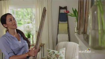 Wayfair TV Spot, 'Joanna's Design Story' Feat. Joanna Gaines, Chip Gaines