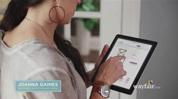 Wayfair TV Spot, 'Joanna's Design Story' Feat. Joanna Gaines, Chip Gaines - Thumbnail 2