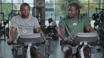 NFL Fantasy Football TV Spot, 'Gym' Featuring Randall Cobb, Eddie Lacy - Thumbnail 2