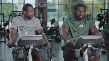 NFL Fantasy Football TV Spot, 'Gym' Featuring Randall Cobb, Eddie Lacy - Thumbnail 4