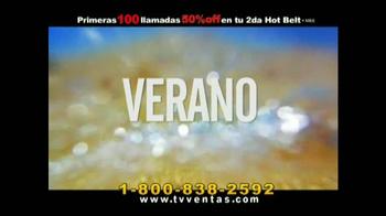 Hot Shapers Hot Belt TV Spot, 'Moldea tu figura' [Spanish] - Thumbnail 1