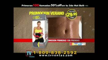 Hot Shapers Hot Belt TV Spot, 'Moldea tu figura' [Spanish] - Thumbnail 9