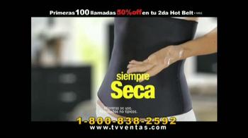 Hot Shapers Hot Belt TV Spot, 'Moldea tu figura' [Spanish] - Thumbnail 3