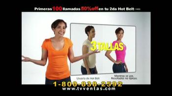 Hot Shapers Hot Belt TV Spot, 'Moldea tu figura' [Spanish] - Thumbnail 4