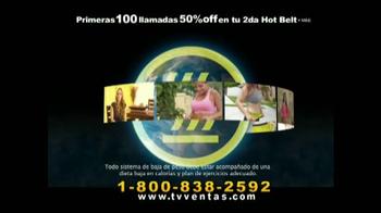 Hot Shapers Hot Belt TV Spot, 'Moldea tu figura' [Spanish] - Thumbnail 6