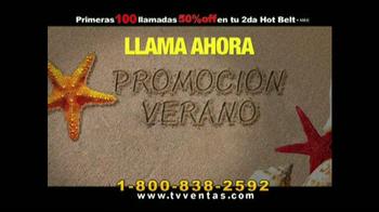 Hot Shapers Hot Belt TV Spot, 'Moldea tu figura' [Spanish] - Thumbnail 8