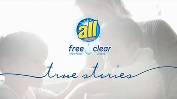All Free Clear Detergent TV Spot, 'True Stories: Amber' - Thumbnail 1
