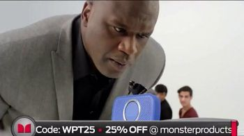 Monster SuperStar TV Spot, 'House Party' Featuring Shaquille O'Neal