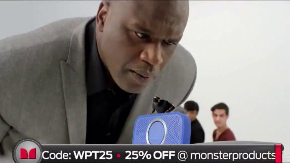 Monster SuperStar TV Commercial, 'House Party' Featuring Shaquille O'Neal