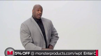 Monster SuperStar TV Spot, 'House Party' Featuring Shaquille O'Neal - Thumbnail 1