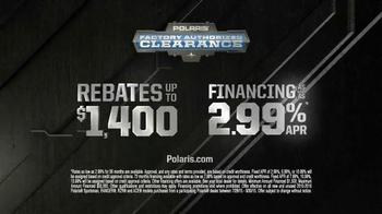 Polaris Factory Authorized Clearance TV Spot, '2015 Model Deals' - Thumbnail 7
