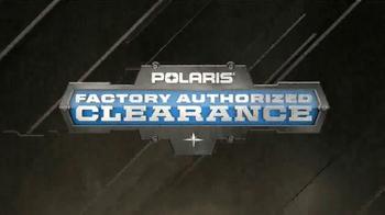 Polaris Factory Authorized Clearance TV Spot, '2015 Model Deals' - Thumbnail 2