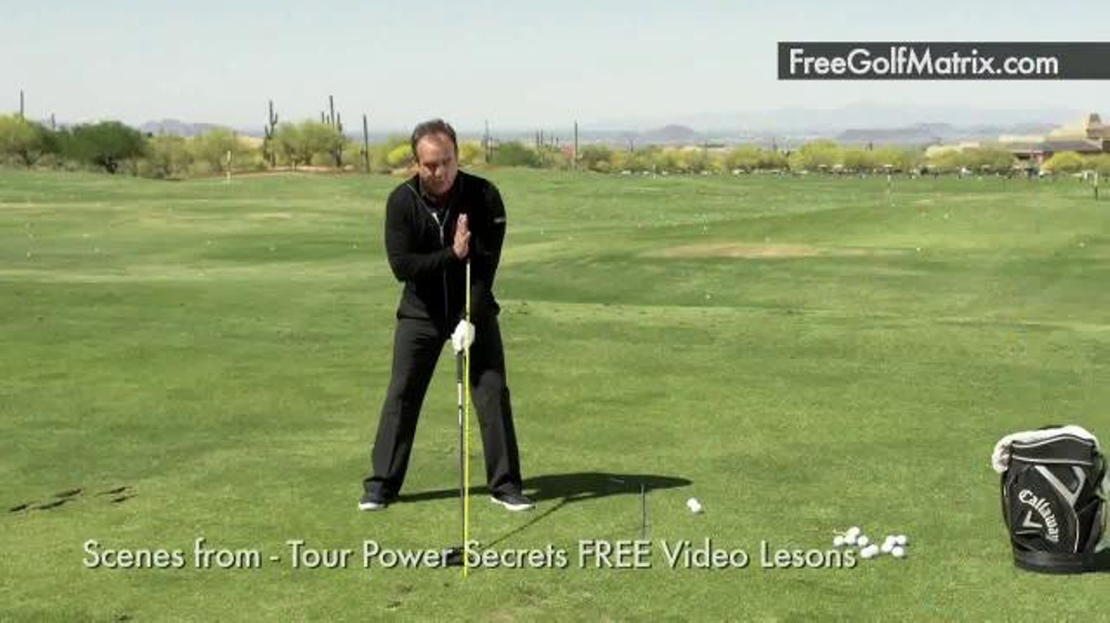 Rick Smith S Golf Matrix Tv Commercial New Way To Golf Featuring Rocco Mediate Video