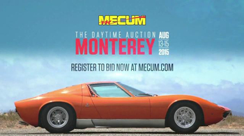 Mecum Auctions TV Spot, 'The Daytime Auction Monterey' - Thumbnail 10