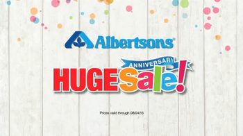 Albertsons Anniversary Sale TV Spot, 'Happy Anniversary to Me'