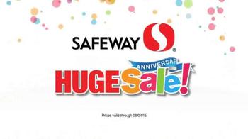 Safeway Huge Anniversary Sale TV Spot, 'Save Serious Money' - Thumbnail 6