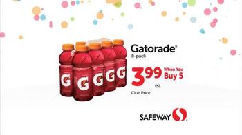Safeway Huge Anniversary Sale TV Spot, 'Save Serious Money' - Thumbnail 4