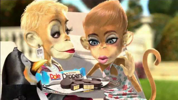 Dole Dippers TV Spot, 'Monkeys by the Pool'