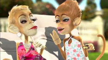 Dole Dippers TV Spot, 'Monkeys by the Pool' - Thumbnail 4