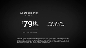 XFINITY X1 Double Play TV Spot, 'Wherever You Go' - Thumbnail 8